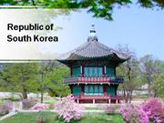 South Korea PowerPoint Content