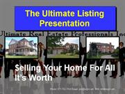 Ultimate Listing Presentation
