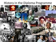 History in the Diploma Programme