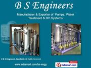 Water Treatment Plants By B S Engineers New Delhi
