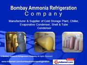 Industrial Refrigeration Equipments By Bombay Ammonia Refrigeration