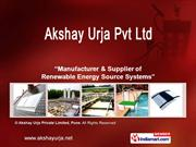 Annual Maintenance Contract By Akshay Urja Private Limited Pune