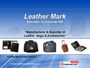 Leather Executive Bags By Leather Mark Chennai
