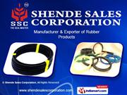 Rubber Extruded / Moulded Products By Shende Sales Corporation Pune