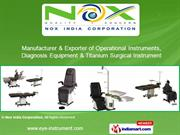 Ophthalmic Instruments & Ophthalmic Equipments By Nox India