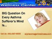 Bakersfield Chiropractor:Improve Asthma Symptoms