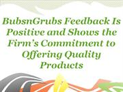 BubsnGrubs Feedback