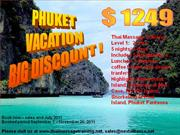 Thailand Vacation Big Discount 2011