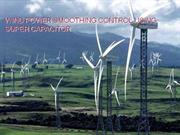 WIND POWER SMOOTHING CONTROL