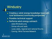 Wind Energy in Perspective