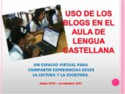PROYECTO LOS BLOGS EN EL AULA DE LENGUA CASTELLANA