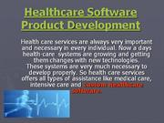 Healthcare Software Product Development