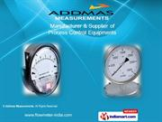 Schaffer & Low Pressure Diaphragm Pressure Gauges By Addmas