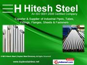 Duplex Steel Buttweld Fittings By M/S Hitesh Steel ( Duplex Steel