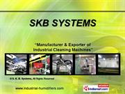 Industrial Cleaning Machines By S. K. B. Systems Coimbatore