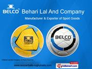 Antique Leather Balls By Behari Lal And Company Jalandhar