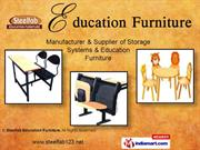 Front Desk By Steelfab Education Furniture Pune