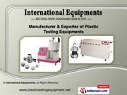 Industrial Testing Equipment By International Equipments Mumbai