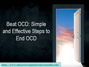 You Can Beat OCDs to End OCD