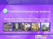 Process Equipment By Padmatech Engineering Systems Pune