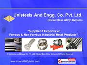 Titanium By Unisteels And Engg. Co. Pvt. Ltd. (Nickel Base Alloy