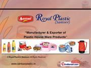 Plastic Insulated Tiffins By Royal Plastics (Santoor) New Delhi