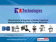 Semi-Automatic Induction Sealing Machine By R. Technologies Navi