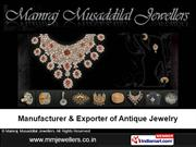 Traditional South Indian Jewellery By Mamraj Musaddilal Jewellers