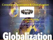 Corporate Governance & Globalization