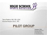 Pilot Group Presentation