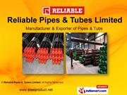 Carbon Steel Seamless Pipes By Reliable Pipes & Tubes Limited Mumbai