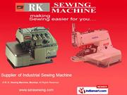 Lockstitch Sewing Machines By R. K. Sewing Machine, Mumbai Mumbai