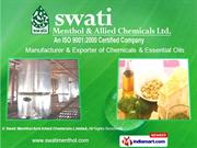 Pine Division. By Swati Menthol And Allied Chemicals Limited Rampur