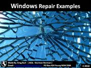 window repair examples