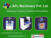 Screen Printing Machines By Apl Machinery Pvt. Ltd. Faridabad