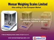 Electronic Weighing Scales By Wensar Weighing Scales Limited Chennai