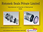 Single Spring Seals By Rotomek Seals Private Limited Ghaziabad