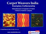 Floor Rugs By Carpet Weavers India Panipat