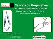 Opthalmic Surgical Instruments By New Vision Corporation, Jalandhar