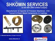 Broached Machined Components By Shkomin Services Mumbai
