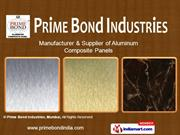 Metallic Composite Panels By Prime Bond Industries, Mumbai Mumbai