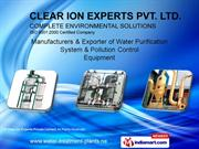 Air Pollution Control Equipment/Systems By Clear Ion Experts Private