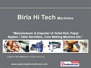 By Birla Hi Tech Machines New Delhi