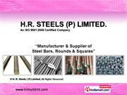 By H. R. Steels ( P) Limited New Delhi