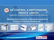 Electrical Equipment By Sg Control And Switchgears Private Limited