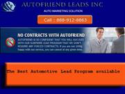 Auto Lead Generation Site – Avail Any Auto Related Leads