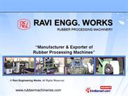 Rubber Calender Machine By Ravi Engineering Works New Delhi