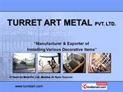 Wrought Iron Artware By Turret Art Metal Pvt. Ltd., Mumbai Mumbai