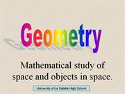 introduction geometry