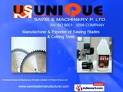 Sawing Blades & Cutters By Unique Saws & Machinery Private Limited